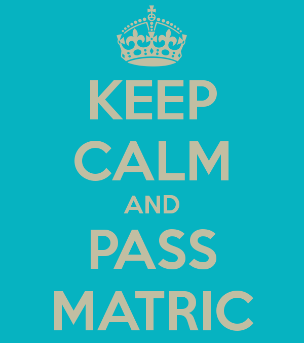 Creative tips to get through Matric
