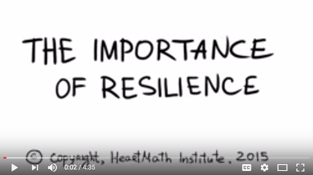 The Importance of Resilience by HeartMath Institute